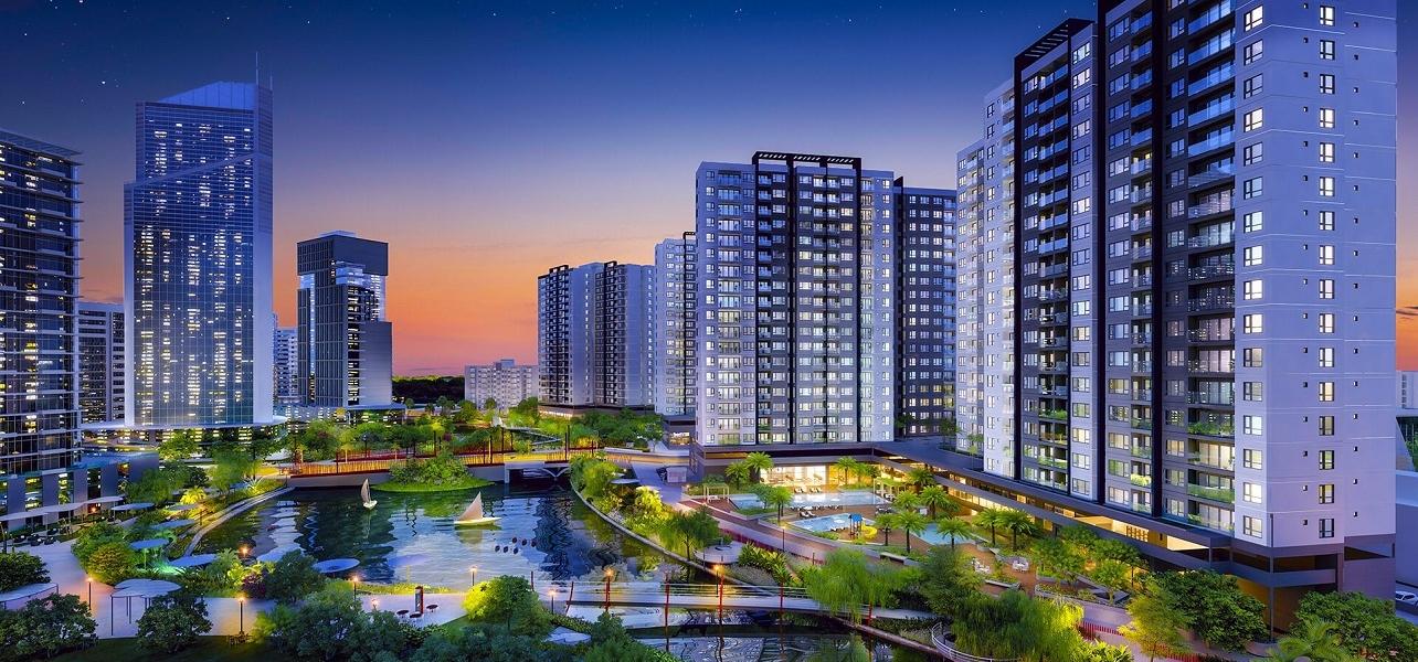 Phối cảnh dự án Flora Mizuki Park - Nam Long Bình Chánh