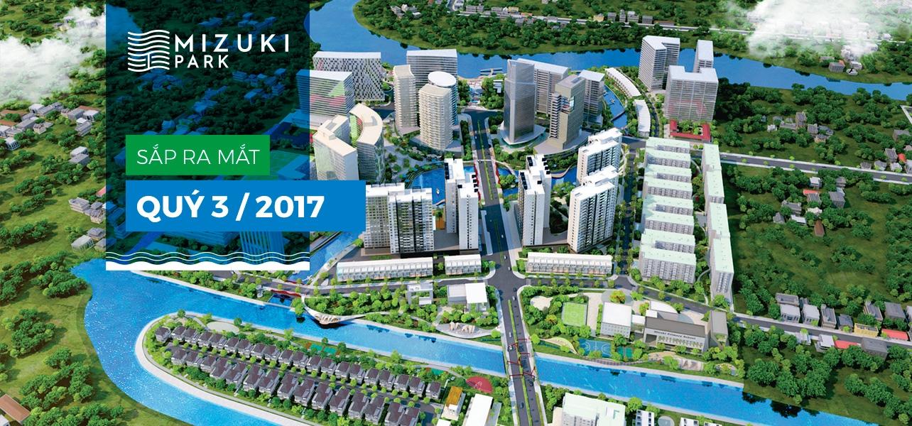Dự án Mizuki Park sắp được triển khai vào Quý 3/2017