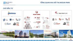 Chủ đầu tư Nam Long và 2 đối tác là Hankyu Realty và Nishi Nippon Railroad.