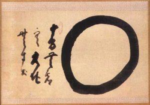 Vòng tròn Enso - hội họa truyền thống ở thiền đường Nhật Bản
