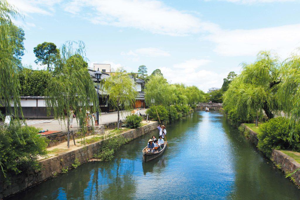 Nét thanh bình gần gũi thiên nhiên bên cạnh những con kênh đào Nhật Bản.