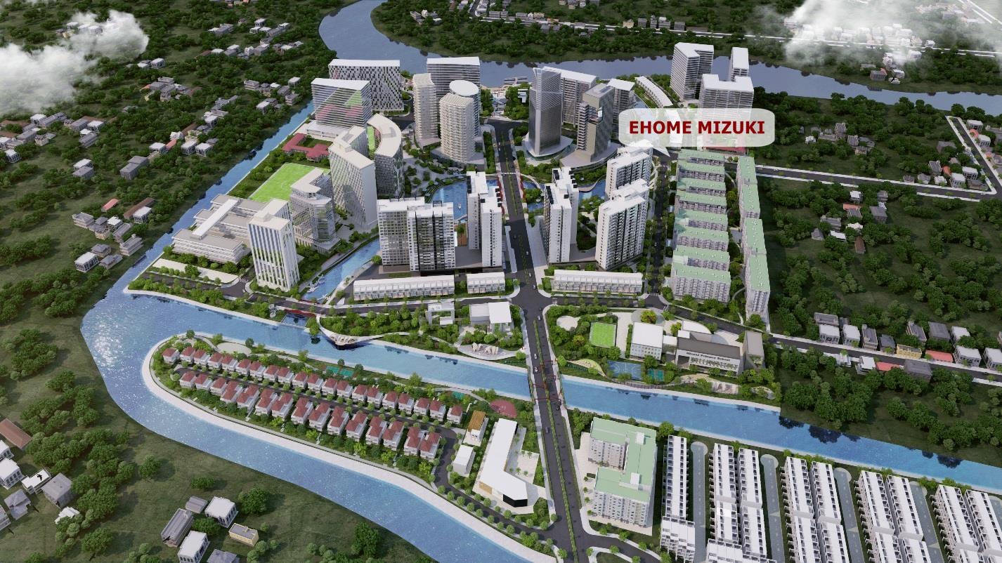 Mizuki Park- dự án nổi bật tại khu Nam.