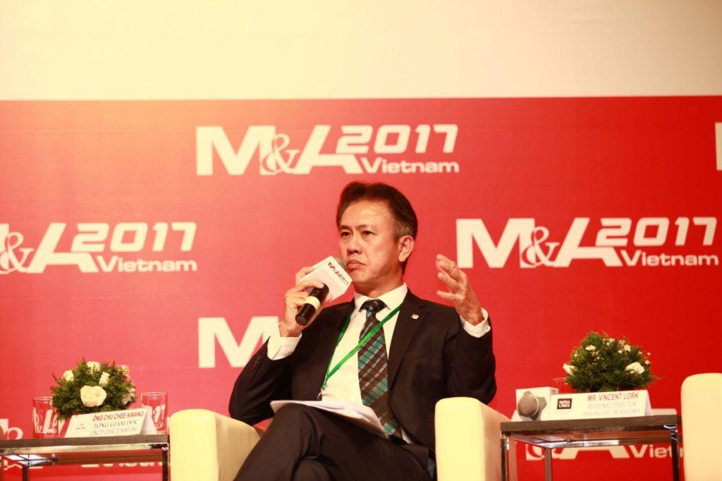 Chu Chee Kwang- Tổng Giám Đốc tập đoàn Nam Long