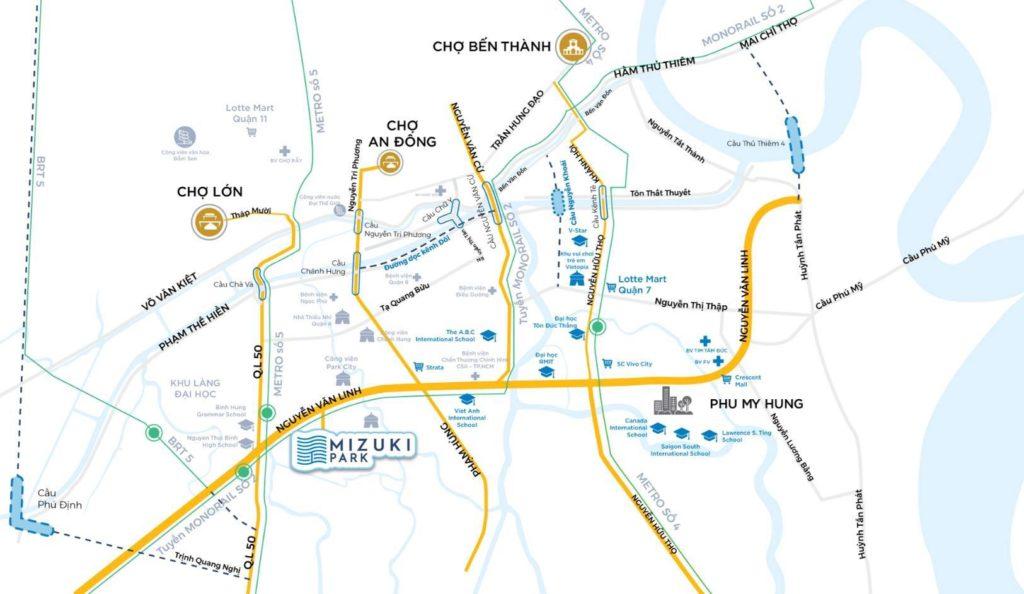 Khu dân cư Flora Mizuki kết nối khu vực nhanh chóng