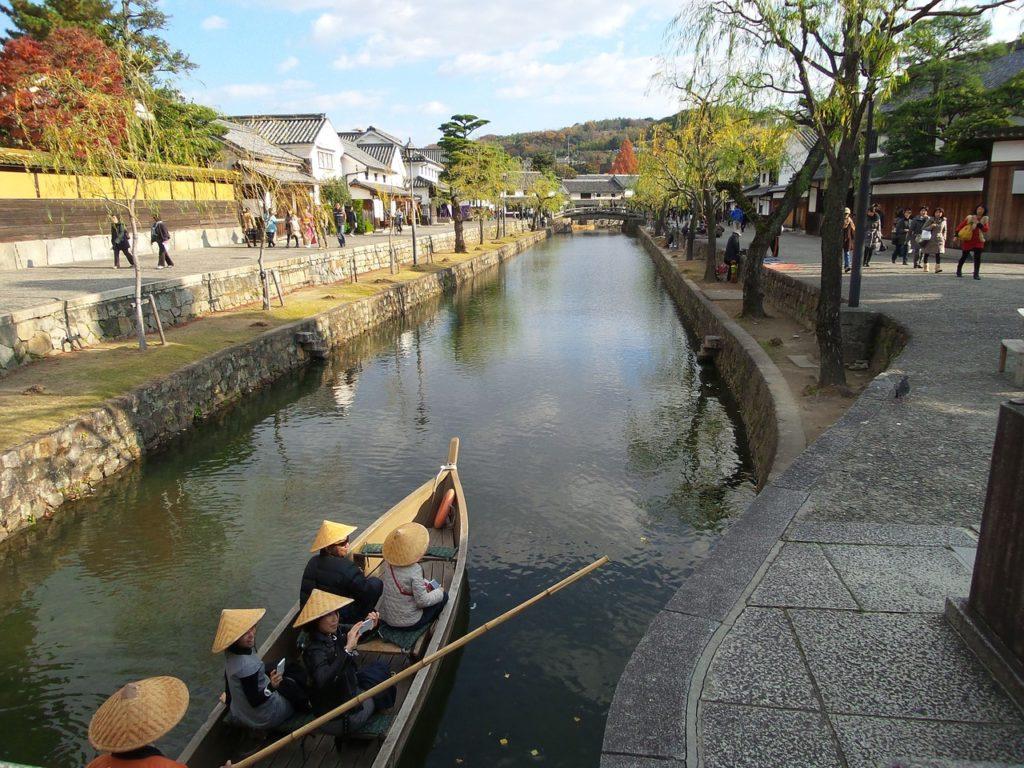 Thật tuyệt vời nếu bến thuyền sẽ là nơi đưa chúng ta dạo quanh con kênh ngắm cảnh quan thiên nhiên và môi trường trong lành trong khu đô thị Mizuki Park