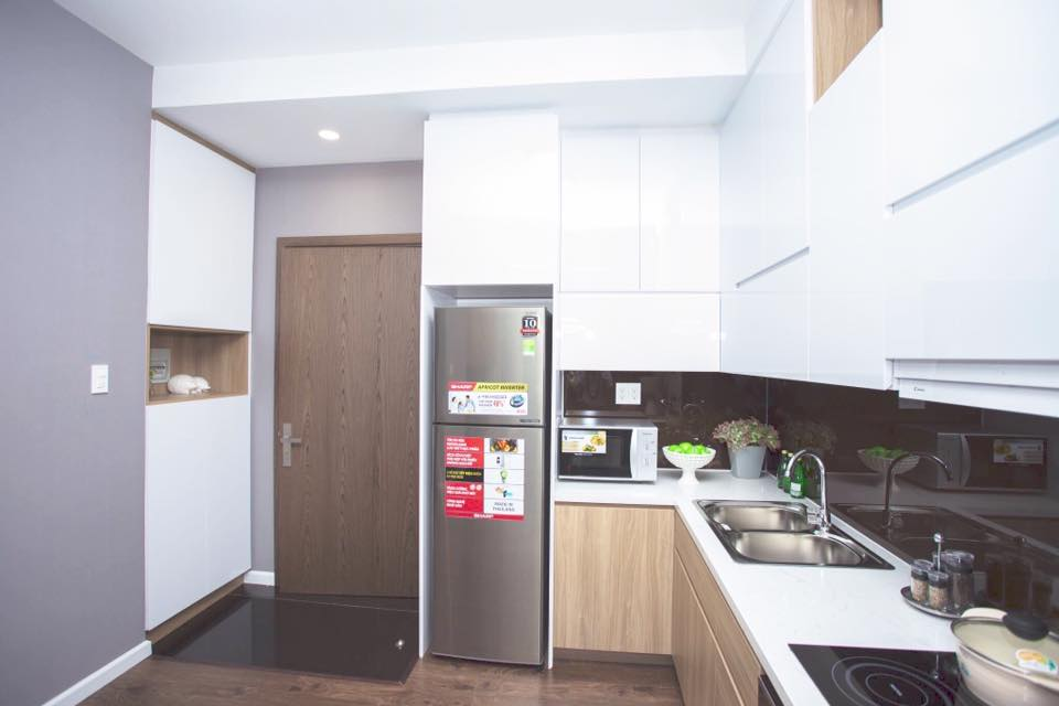 Nhà mẫu căn hộ 56,03 m2.