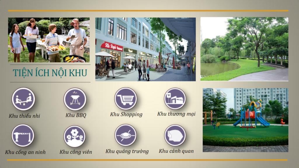 Tiện ích khu dân cư Ehome S - Mizuki Park