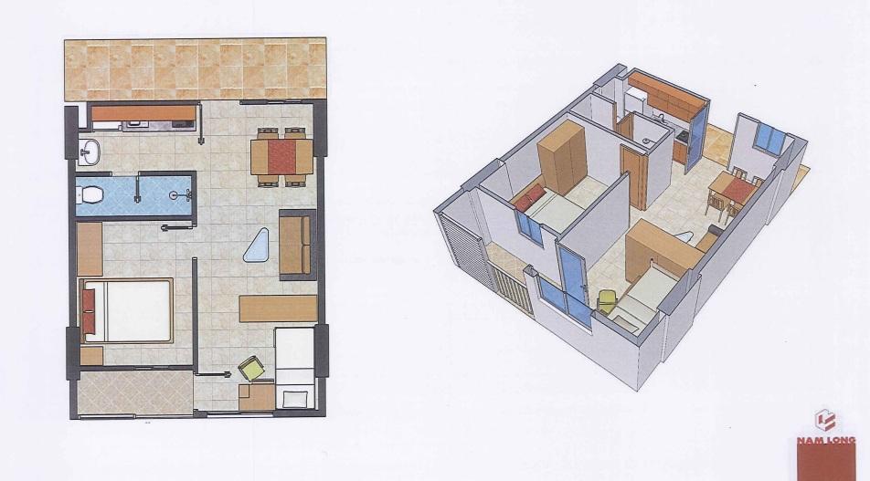 Căn hộ Ehome S 40 m2