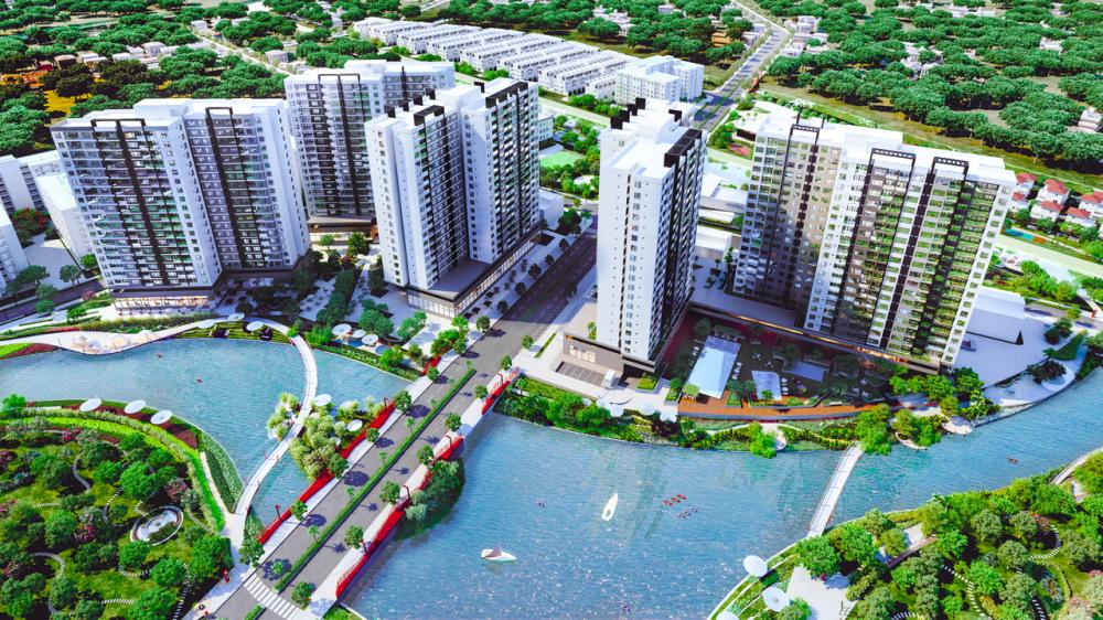 Khu đô thị Mizuki Park được Nhật Bản đầu tư cảnh quan bài bản
