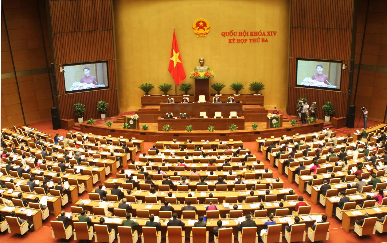 Quốc hội thông qua cơ chế đặc thù phát triển TP HCM. Ảnh minh họa