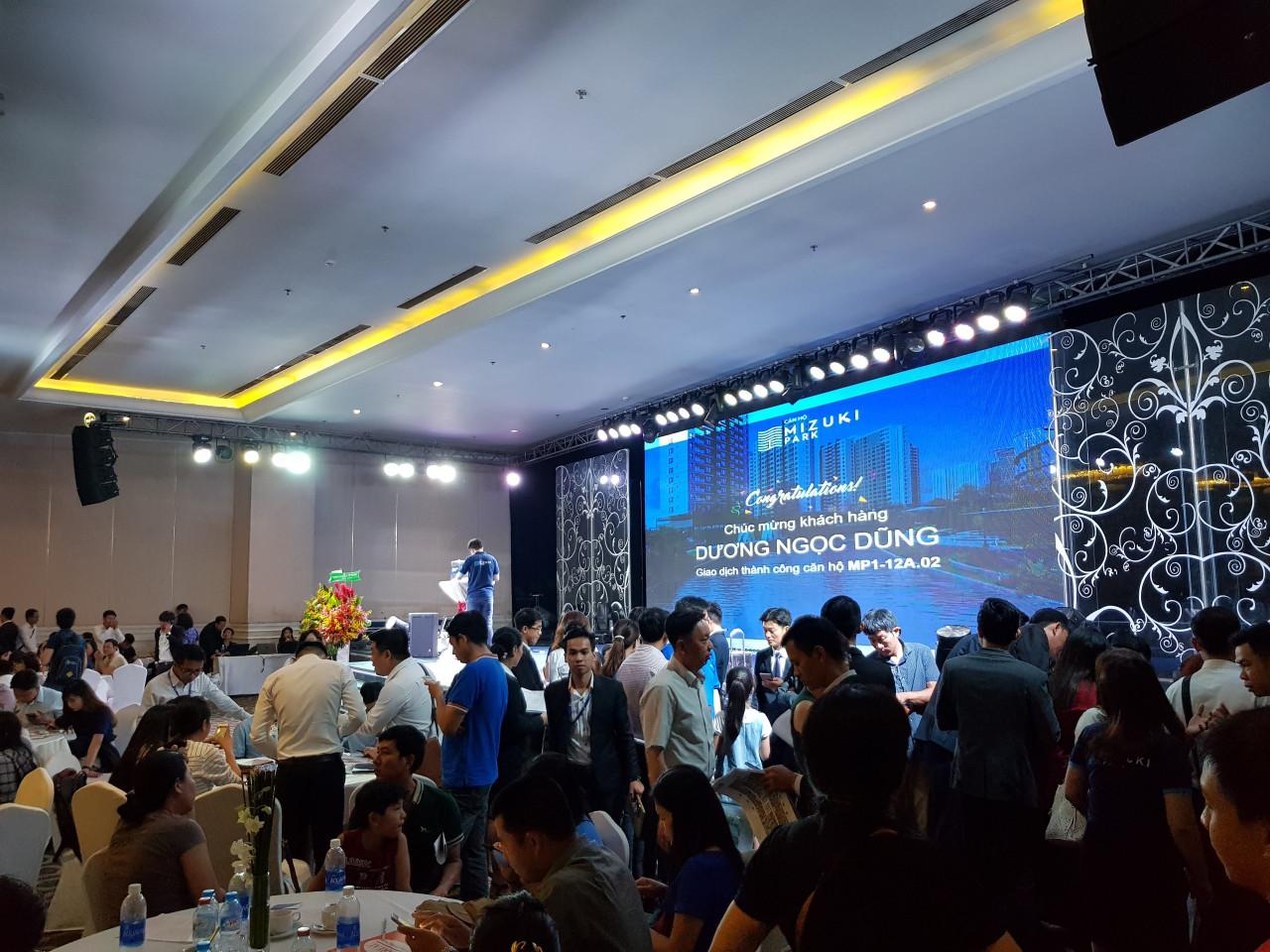 Lễ mở bán căn hộ Flora Mizuki Nam Long GĐ1 tại trung tâm Adora Grand View , Quận 5