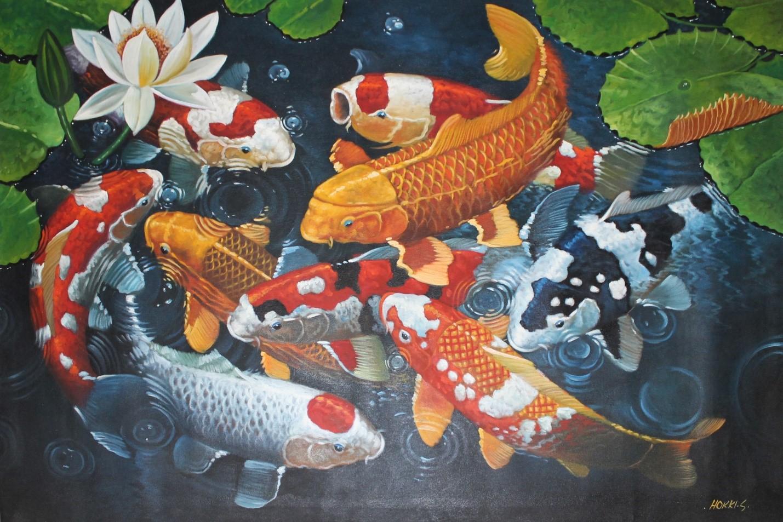 Cá Koi là một biểu tượng văn hóa độc đáo của người Nhật