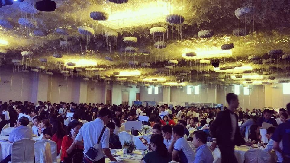 Rất đông khách hàng đến tham dự lễ mở bán GĐ2 căn hộ Mizuki Park - Nam Long Bình Chánh