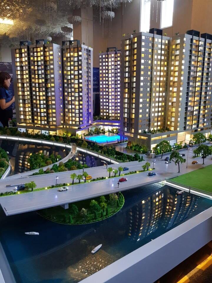 San bà dự án được đặt tại Lễ mở bán căn hộ Mizuki Park Bình Chánh