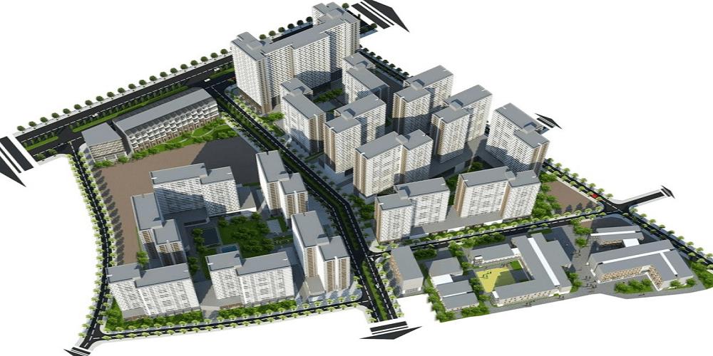 Phối cảnh Dự án Akari City Nam Long Bình Tân