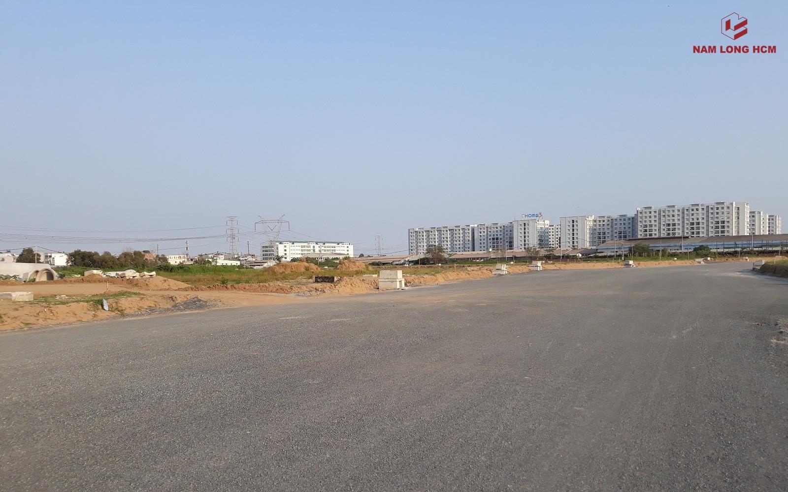 Dự án Akari City nằm ngay cạnh dự án Ehome 3 của Nam Long. Ảnh: Nam Long HCM
