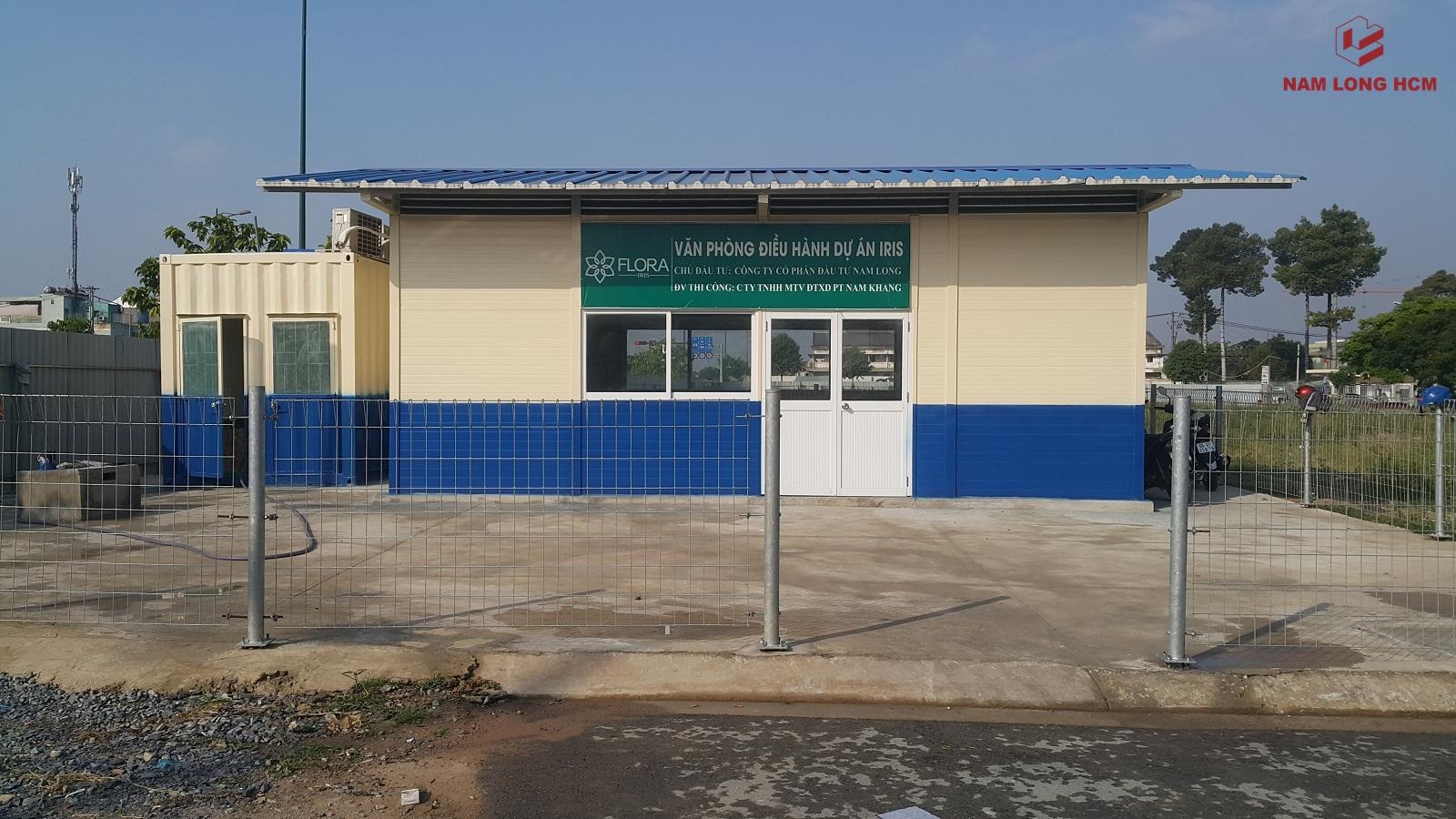 Văn phòng điều hành tại dự án Flora Iris Thủ Đức. Ảnh: Nam Long HCM