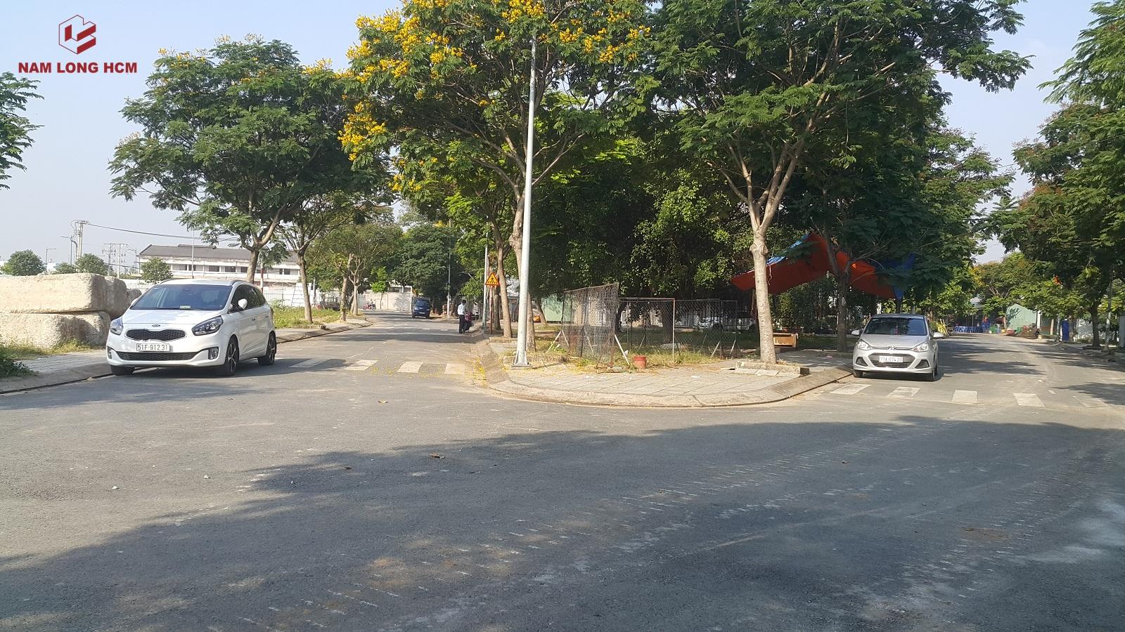 Dự án Flora Iris Nam Long có vị trí rất tốt khi nằm trong khu dân cư hiện hữu và nằm mặt tiền đường Phạm Văn Đồng. Ảnh: Nam Long HCM