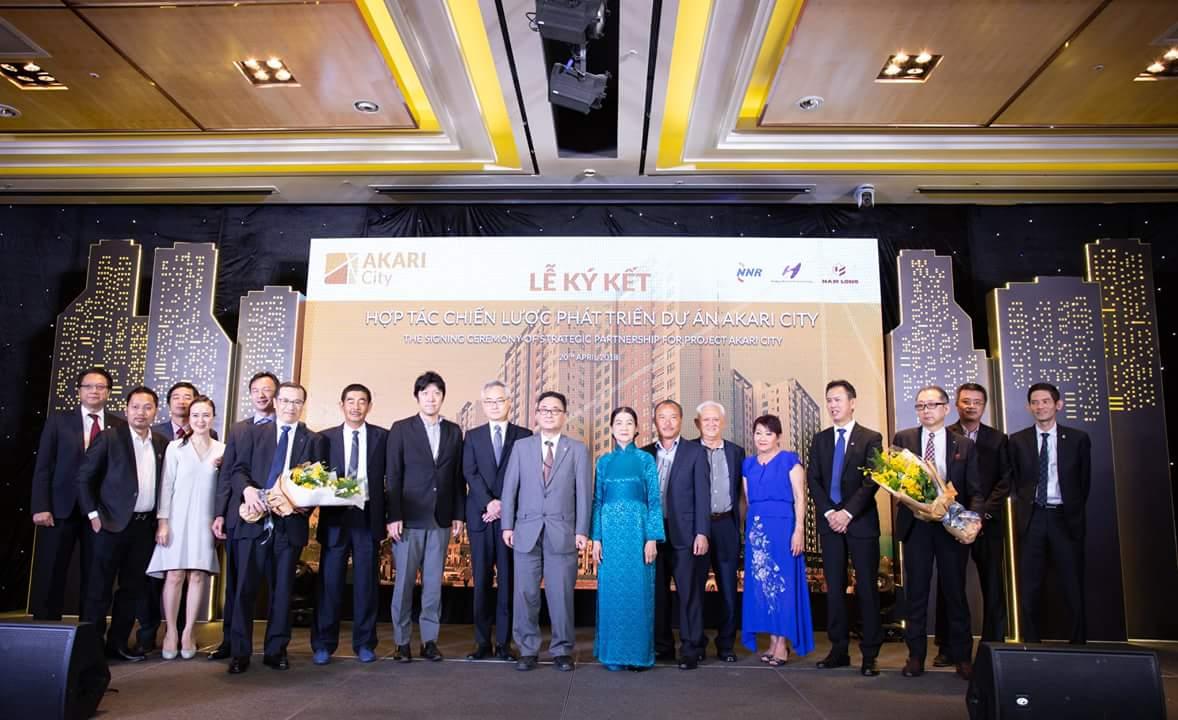 Lễ ký kết hợp tác chiến lược phát triển dự án Akari City Bình Tân