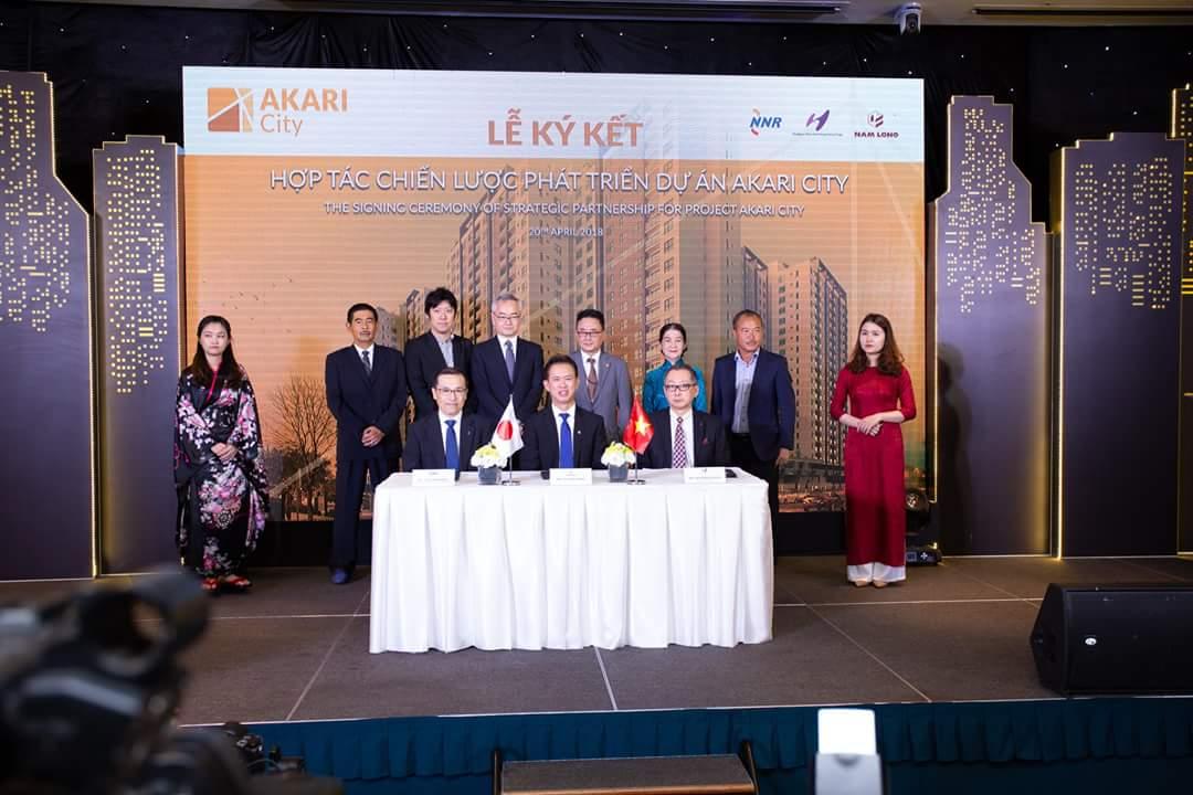 Lễ ký kết Hợp tác chiến lược phát triển dự án Akari City Bình Tân. Nam Long HCM