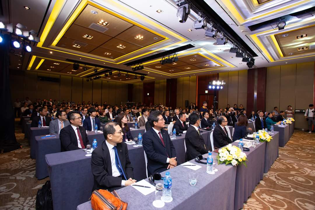 Khách mời tham gia lễ ký kết hợp tác phát triển dự án Akari City giữa Nam Long và 2 đối tác Nhật Bản. Nam Long HCM