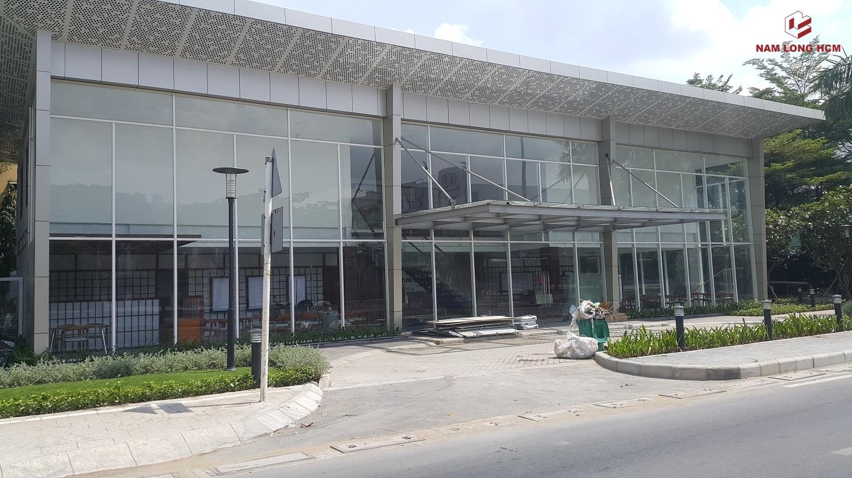 Nhà mẫu dự án Akari City đang hoàn thiện phần nội thất bên trong. Ảnh: Nam Long HCM