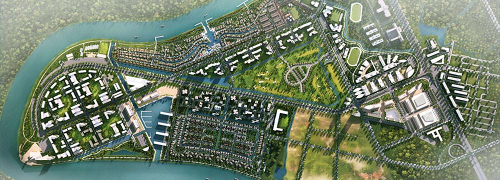 Mặt bằng tổng thể dự án Waterpoint Long An do Nam Long Phát triển