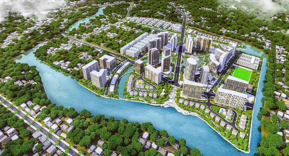 Khu đô thị Mizuki Park - Dự án tiêu biểu của Nam Long trong năm 2018