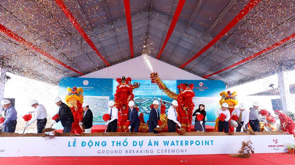 Lễ động thổ dự án Waterpoint Long An do Tập đoàn Nam Long làm CĐT