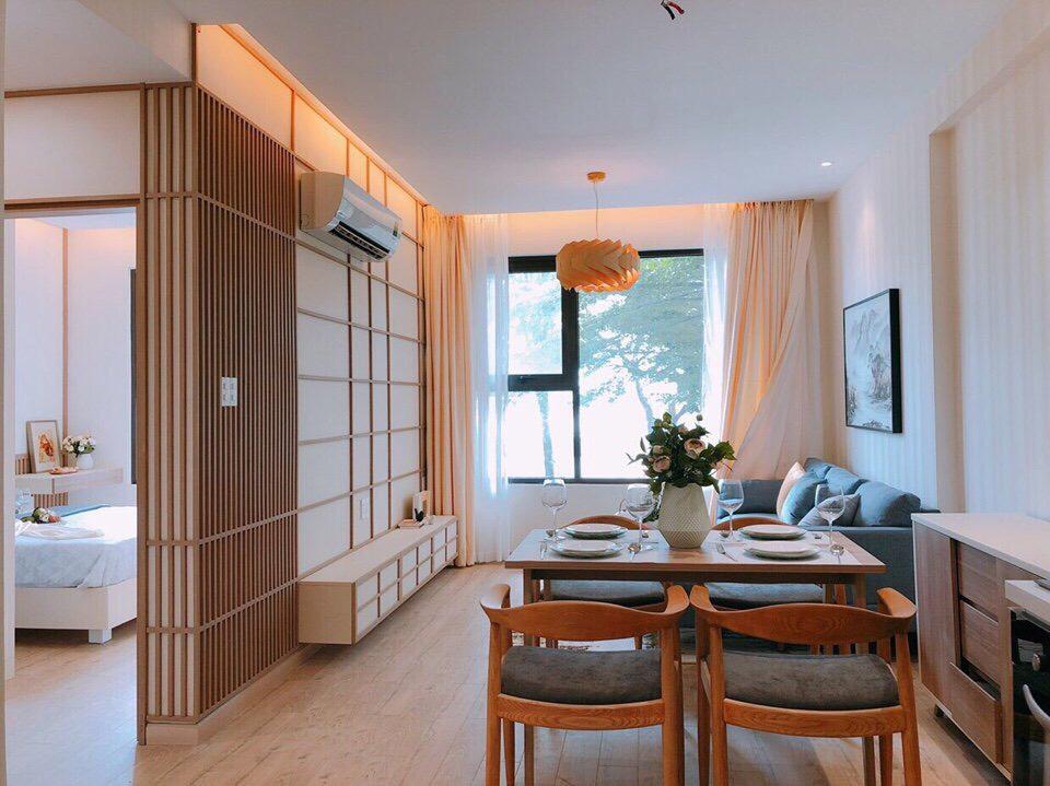 Căn hộ mẫu Akari City Bình Tân được thiết kế theo phong cách Nhật Bản.