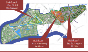 Phối cảnh tổng quan dự án water point Nam Long. Ảnh minh họa