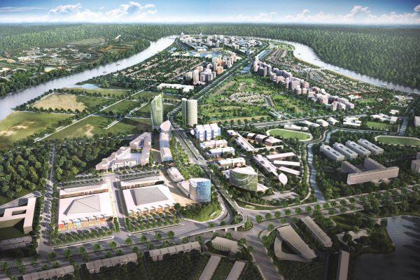 Tổng quan dự án water point Nam Long. Ảnh minh họa