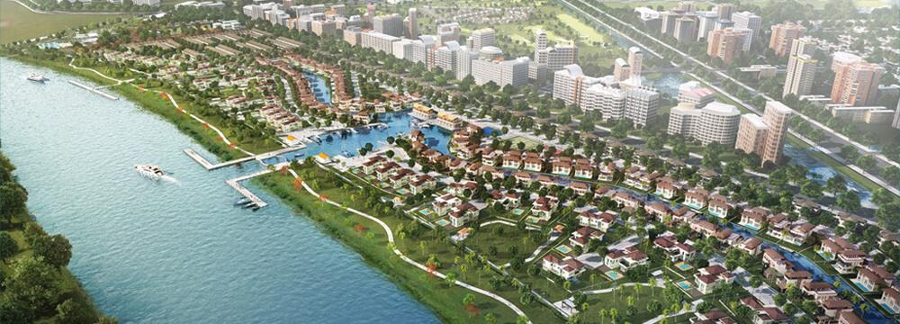 Phối cảnh dự án water point Nam Long. Ảnh minh họa