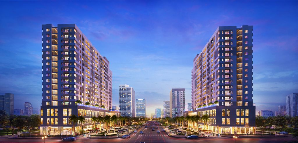 Dự án mới nhất do Tập đoàn Nam Long được triển khai trên đại lộ Phạm Văn Đồng có tên là Flora Novia.