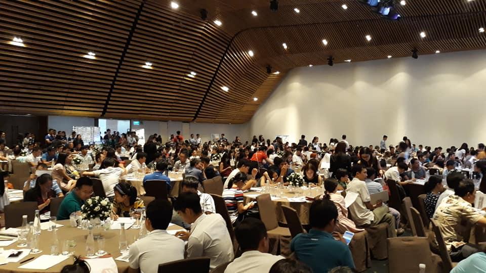 Khách hàng tham dự buổi lễ mở bán dự án Novia Nam Long