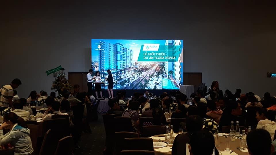 Những khách hàng đã đặt chỗ tới tham dự lễ bốc thăm dự án Novia Thủ Đức tại Gem Centre