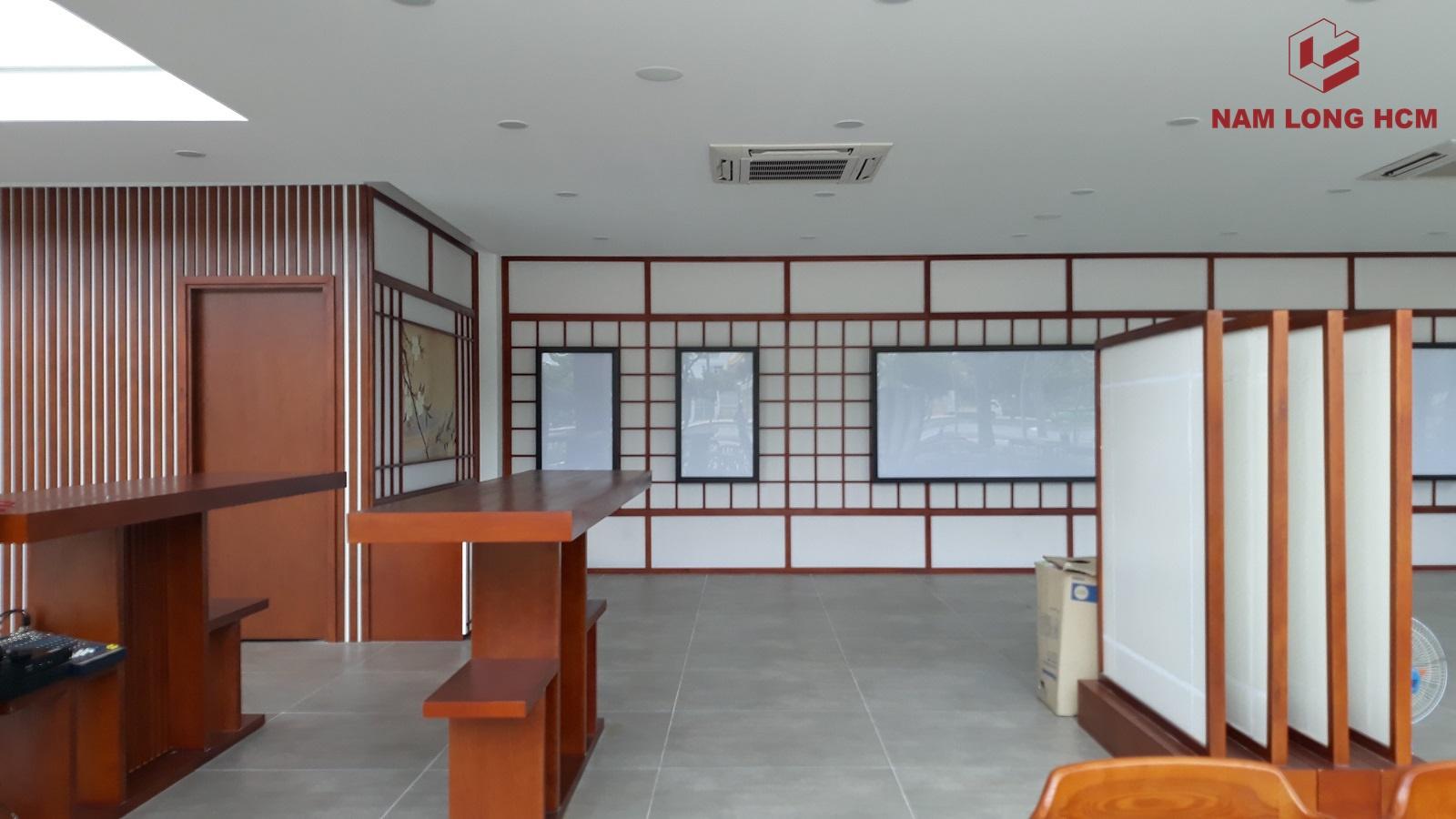 Nhà mẫu Akari City được thiết kế theo phong cách Nhật Bản. Ảnh: Nam Long HCM