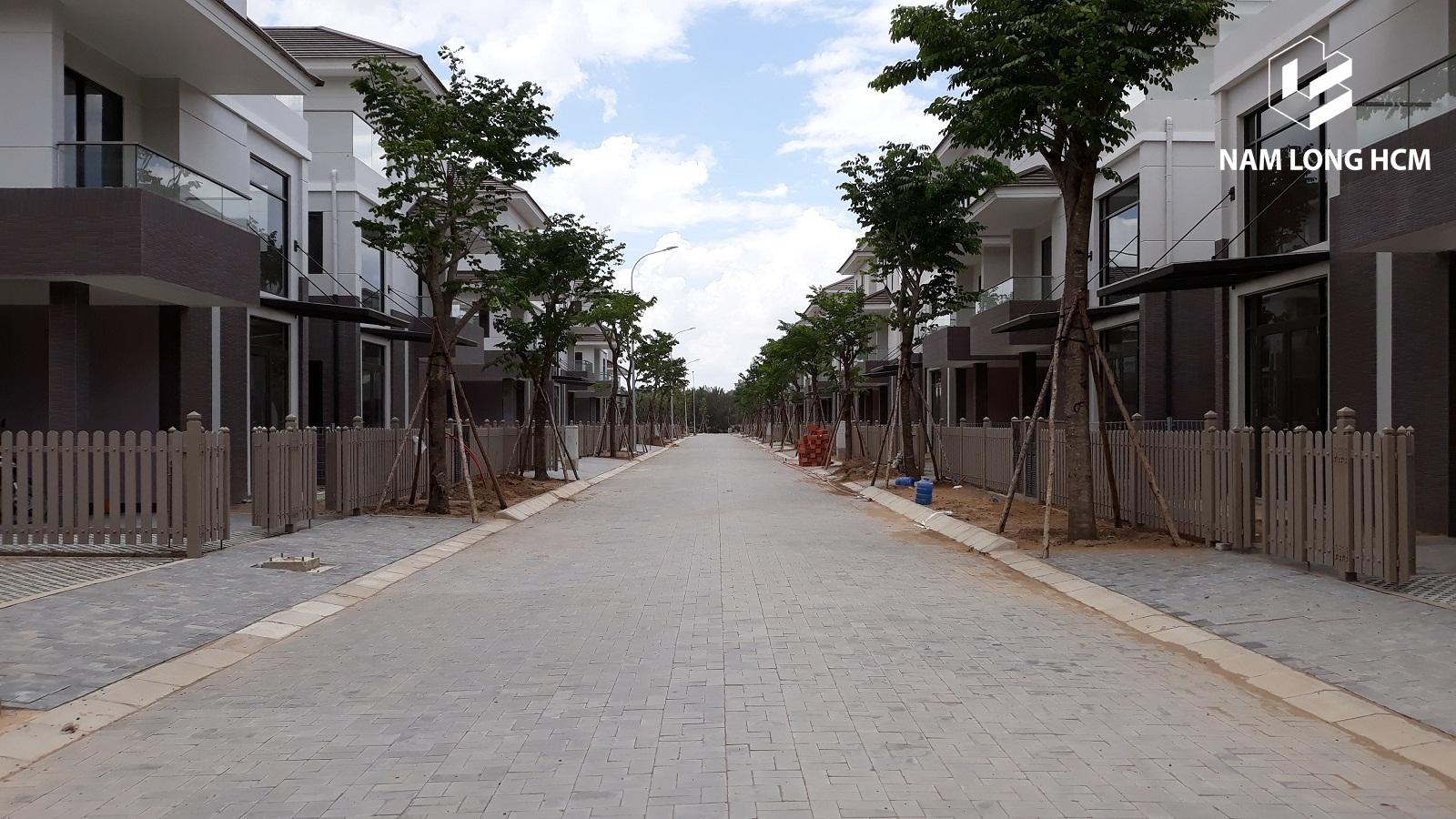 Nam Khang đang hoàn thiện những hạn mục cuối cùng của dự án. Ảnh: Nam Long HCM