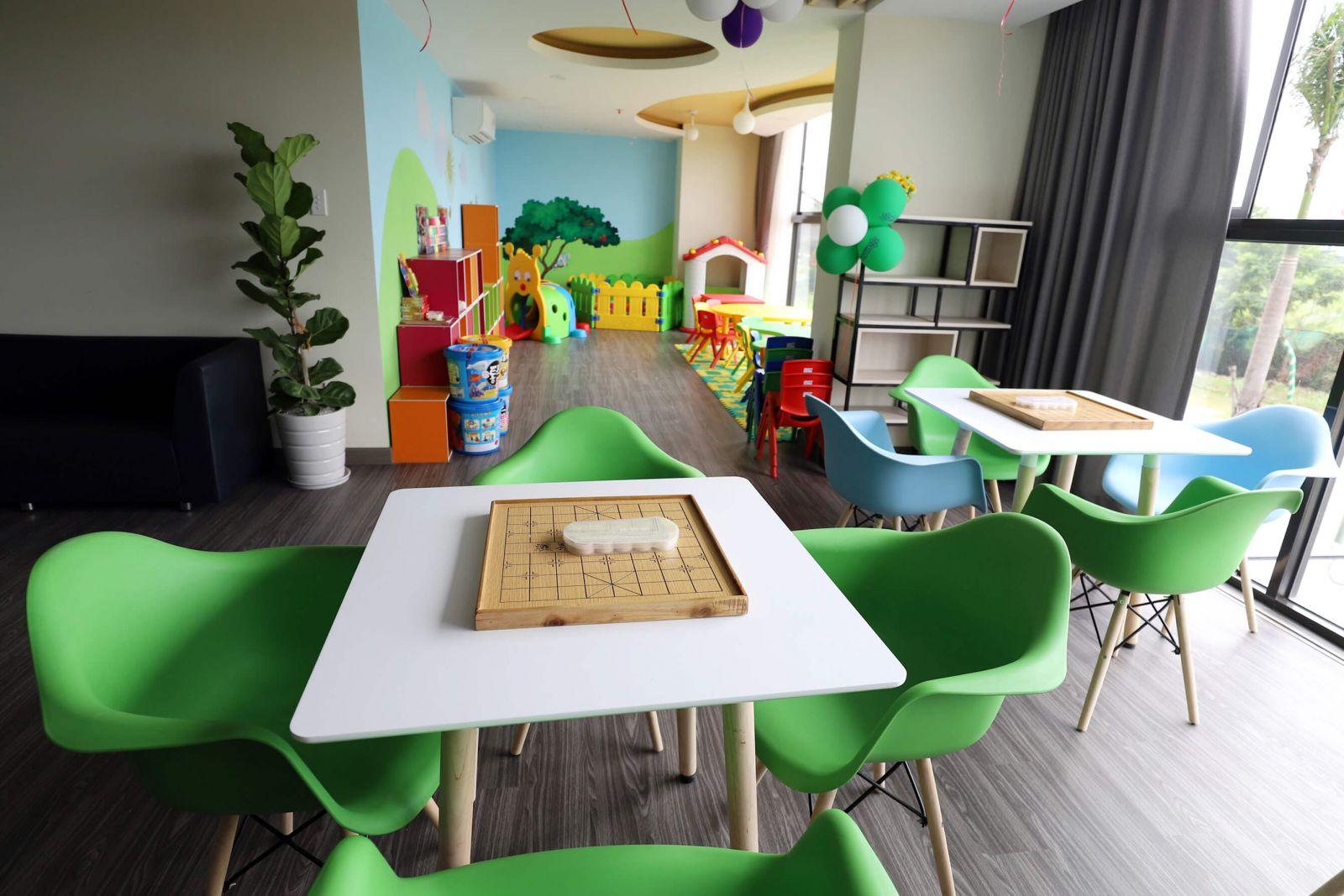 Khu vui chơi dành cho trẻ em tại dự án Flora Kikyo Quận 9
