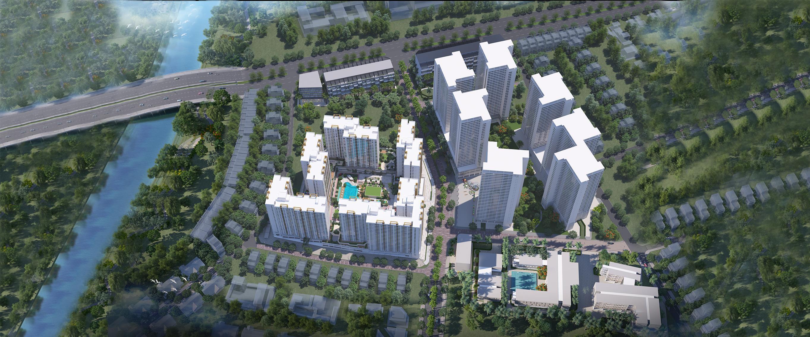 Phối cảnh dự án Akari City - Nam Long Bình Tân.