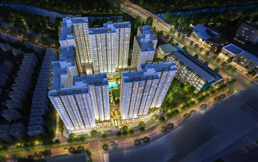 Phối cảnh dự án Akari City Bình Tân - Nam Long HCM