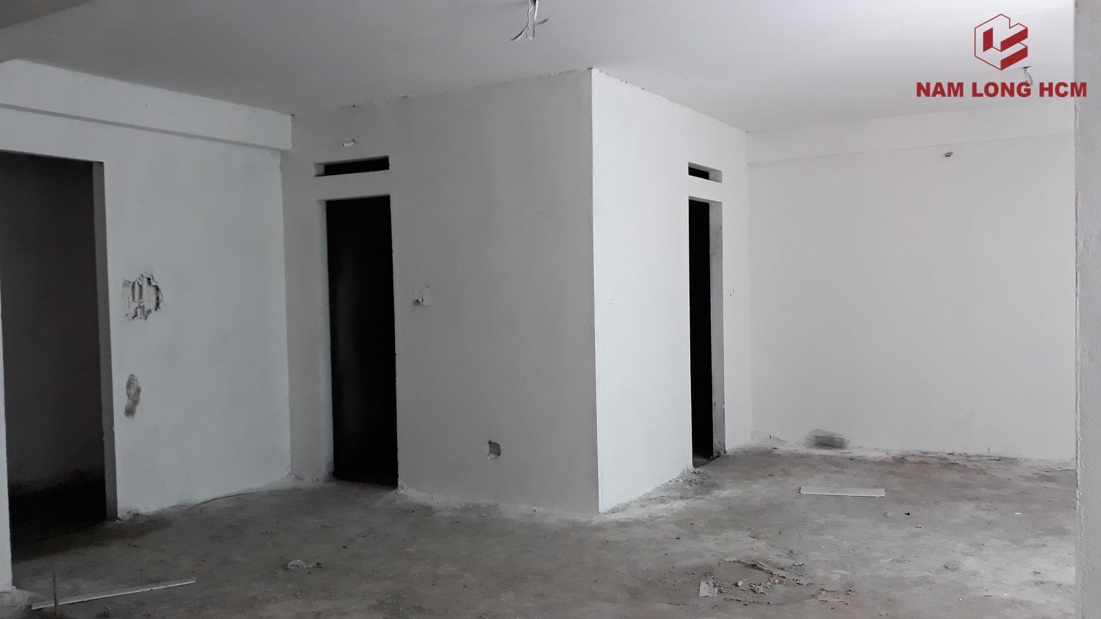 Một số căn hộ đã tô và sơn tường - Dự án Ehome S Bình Chánh. Ảnh: Nam Long HCM