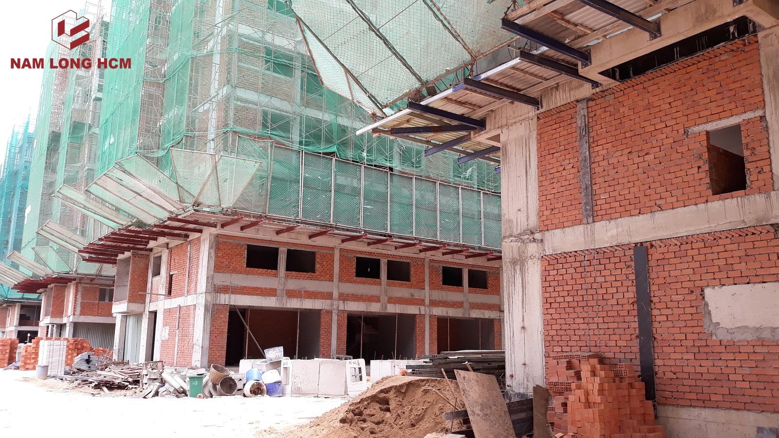 Tiến độ xây dựng dự án Ehome Mizuki - Nam Long Bình Chánh. Ảnh: Nam Long HCM