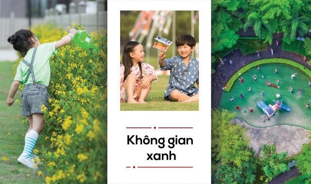 Không gian xanh tại các khu dân cư Nam Long