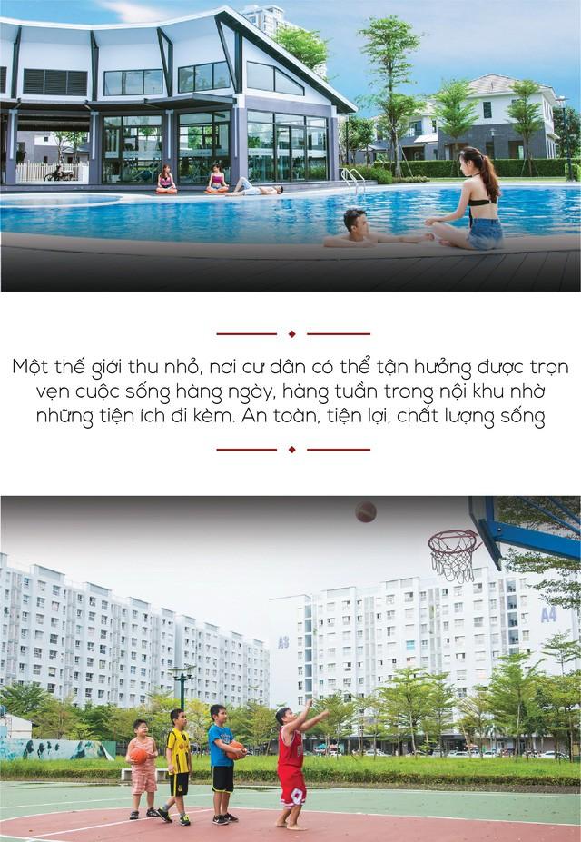 Tiện ích tại các dự án của Nam Long