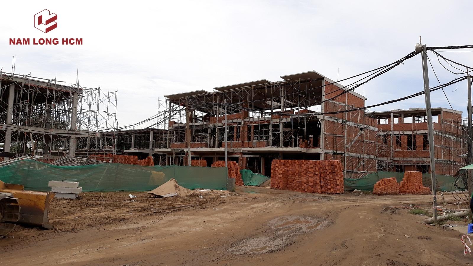 Nhà phố Đảo Thiên Đường do nhà thầu Nam Khang xây dựng. Dự án triển khai thi công Quý 2/2018. Ảnh: Nam Long HCM