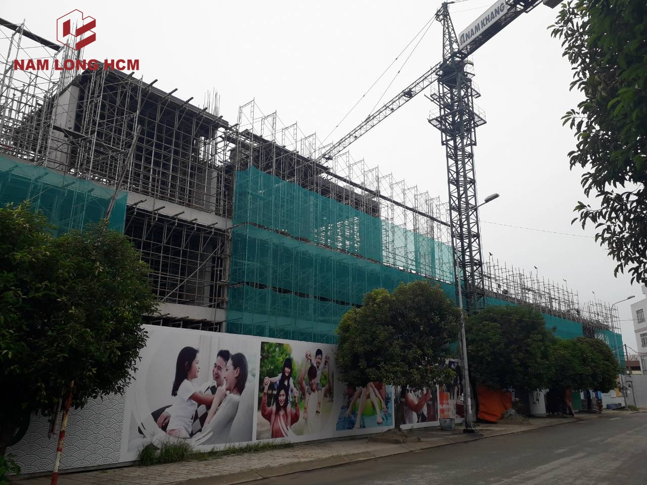 Tiến độ dự án Flora Novia - Nam Long Thủ Đức tháng 11/2018. Ảnh: Nam Long HCM