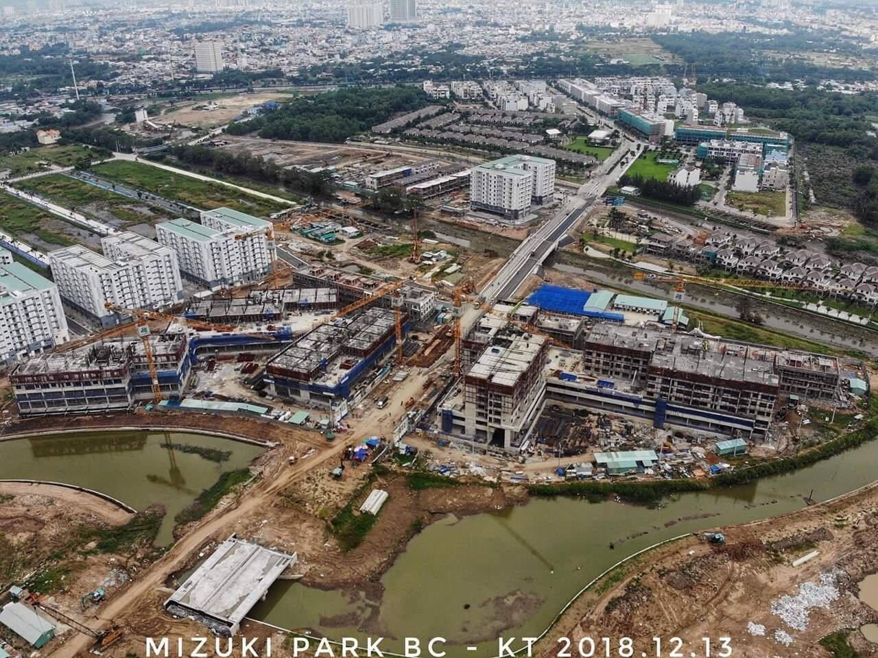 Khu đô thị Mizuki Park Bình Chánh được tập Nam Long triển khai trong năm 2017. Dự án được mở bán trong năm 2017 và 2018. Giai đoạn 2 dự kiến triển khai trong năm 2019