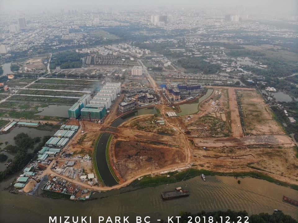 CĐT Nam Long dự kiến mở bán giai đoạn 2 dự án Mizuki Park trong năm 2019.