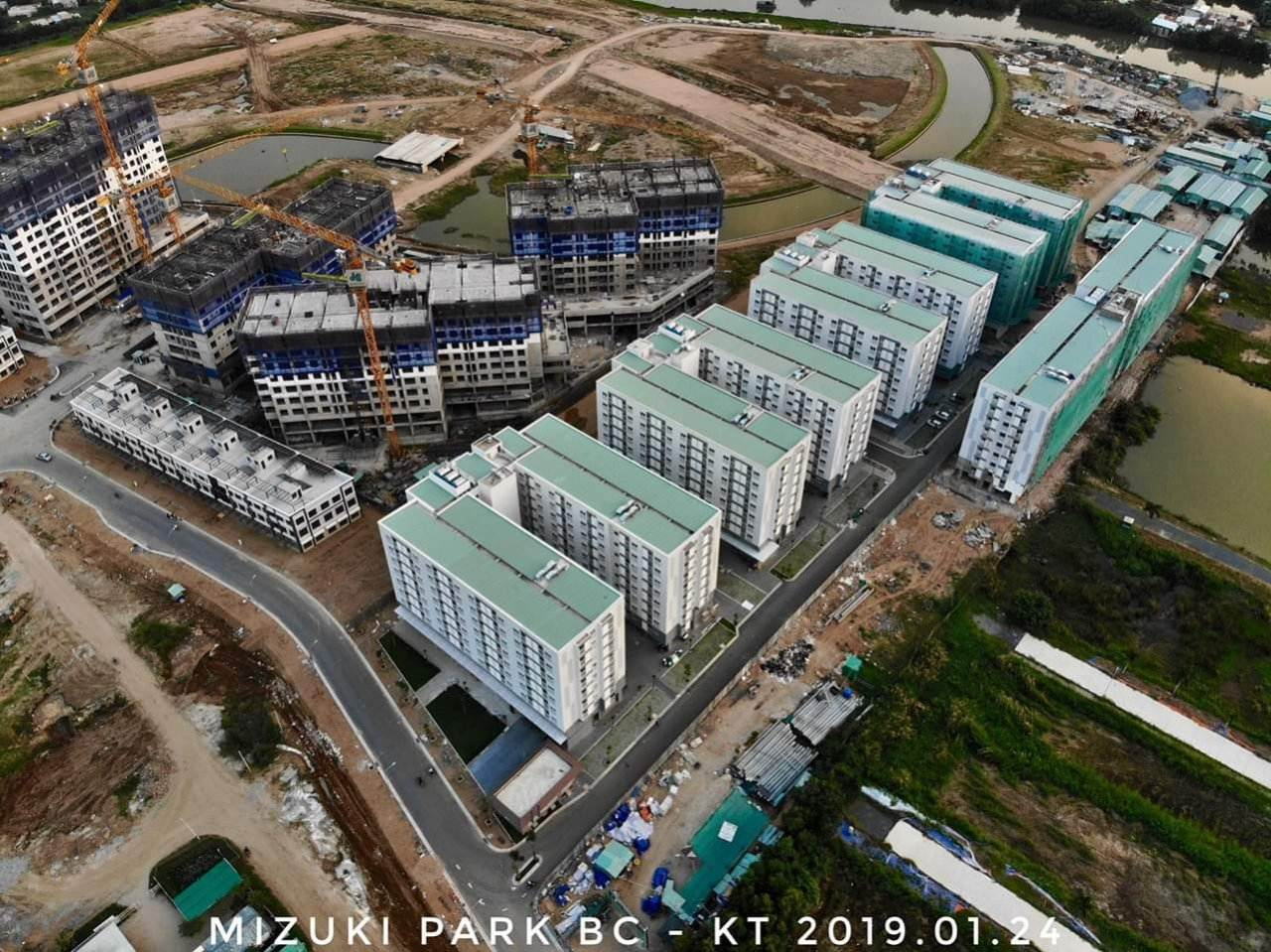 Cận cảnh tiến độ dự án Ehome Nam Sài Gòn.